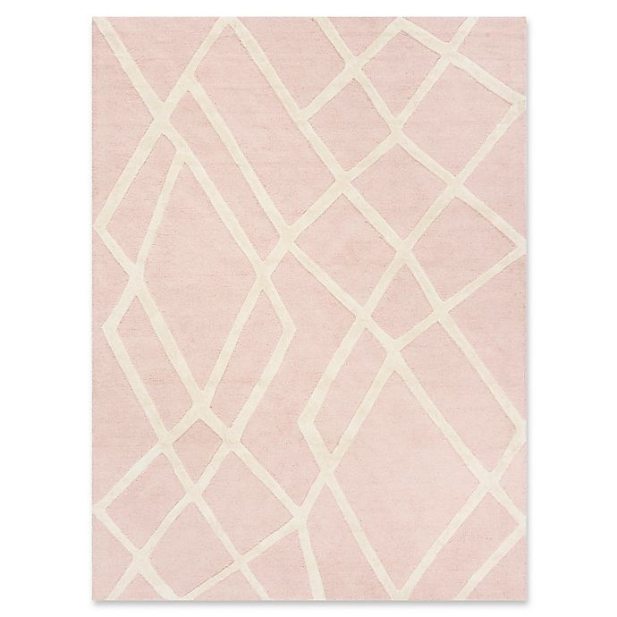 Alternate image 1 for Safavieh Kids® Shapes Rug in Pink