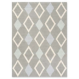 Safavieh Kids® Diamonds Rug in Grey