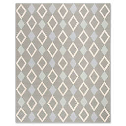 Safavieh Kids® Diamonds 8' x 10' Rug in Grey
