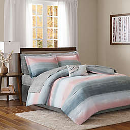 Madison Park Essentials Saben Complete Comforter and Cotton Sheet Set