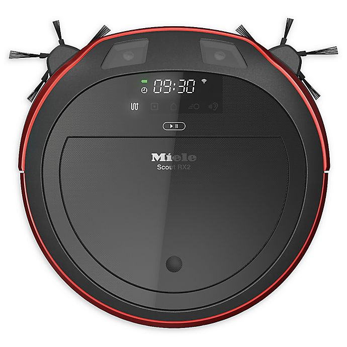 Alternate image 1 for Miele® Scout RX2 Mobile Control Robot Vacuum in Red