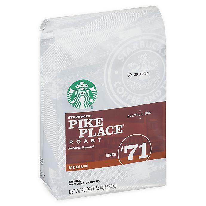 Alternate image 1 for Starbucks® 28 oz. Pike Place Ground Coffee