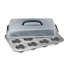 Calphalon® Nonstick 12-Cup Covered Cupcake Pan