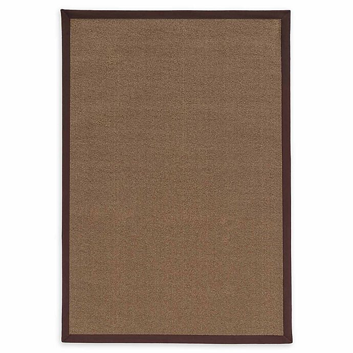 Alternate image 1 for Linon Home Natural Inspirations Faux Sisal 3' x 5' Area Rug in Brown