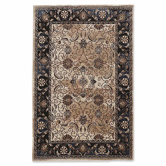 Alternate image 1 for Linon Home Aristocrat Isfahan 9' x 12' Area Rug in Brown