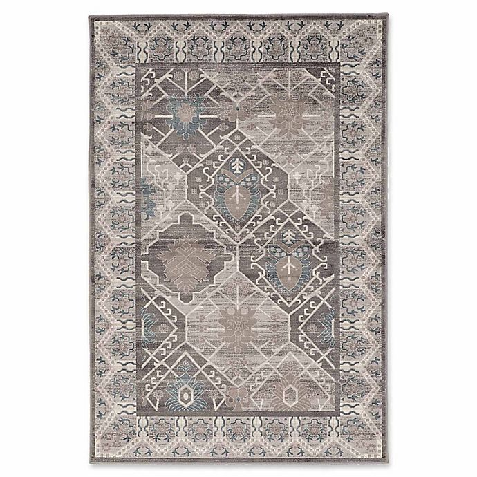 Alternate image 1 for Linon Home Aristocrat Belouch 9' x 12' Area Rug in Grey