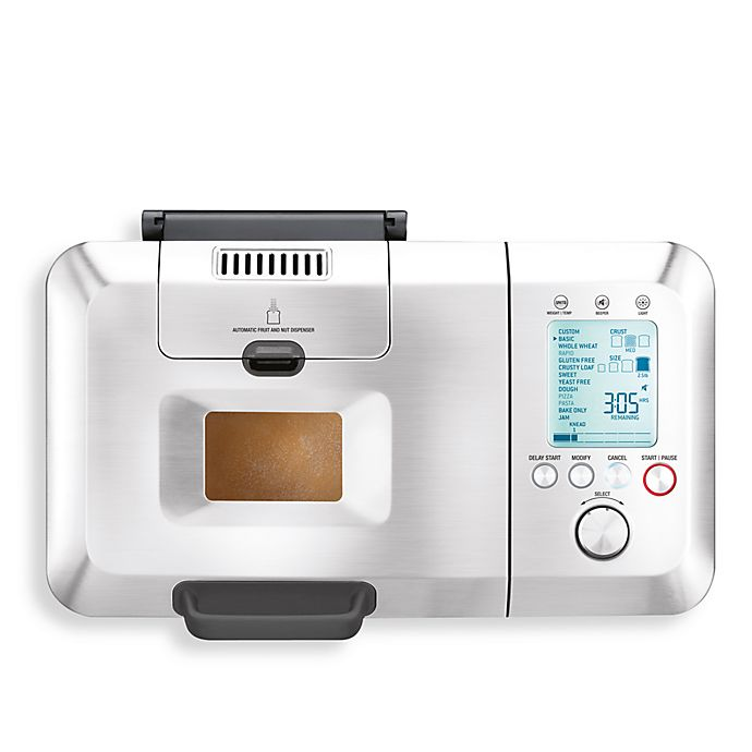 Alternate image 1 for Breville® The Custom Loaf™ Bread Maker with Automatic Fruit and Nut Dispenser