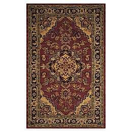 Nourison India House Rug in Rust
