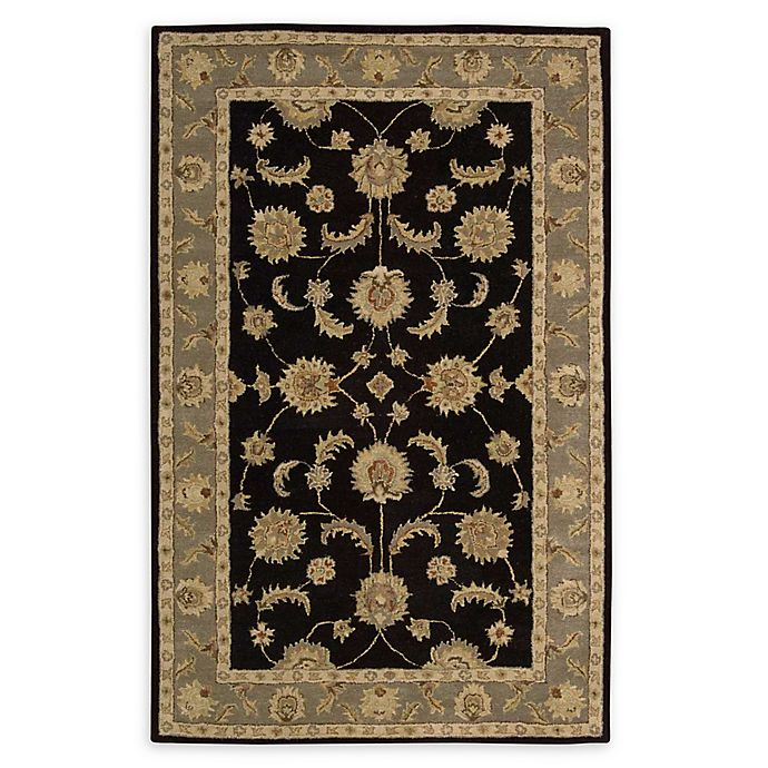 Alternate image 1 for Nourison India House 5' x 8' Hand-Tufted Area Rug in Black