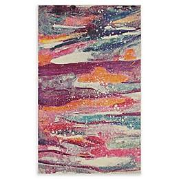 Unique Loom Majestic Spectrum Multicolor Rug
