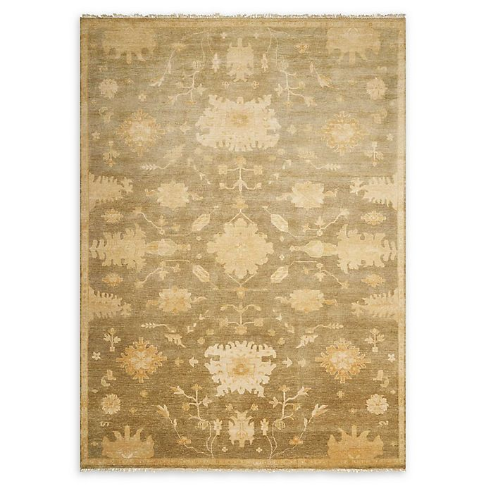 Alternate image 1 for Nourison Grand Estate 8'6 x 11'6 Hand-Knotted Area Rug in Sage