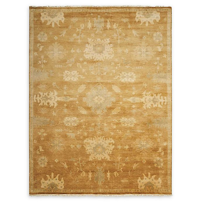 Alternate image 1 for Nourison Grand Estate 5'6 x 8' Hand-Knotted Area Rug in Tobacco