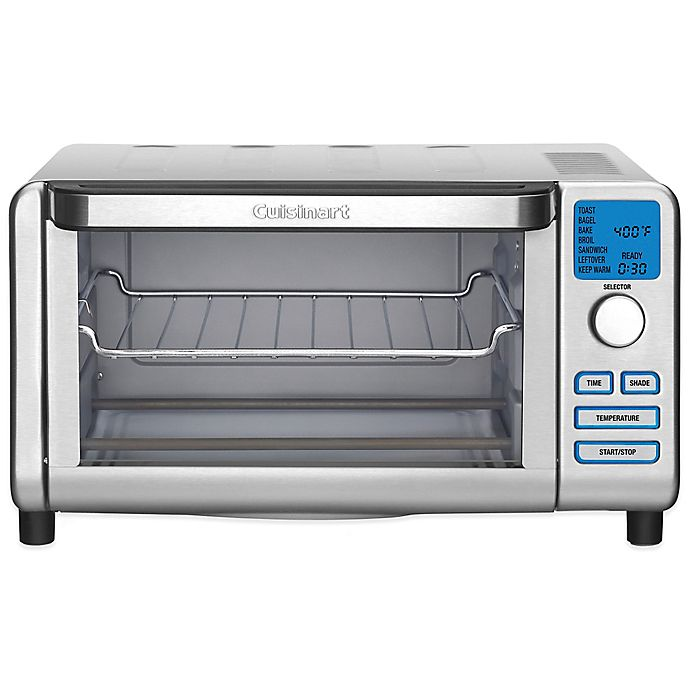 Cuisinart 174 Compact Digital Toaster Oven Broiler Bed Bath