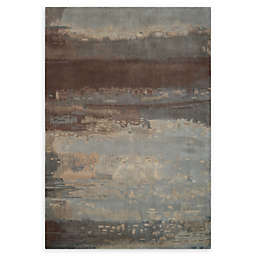 Calvin Klein Home Luster Wash Handcrafted Rug in Slate