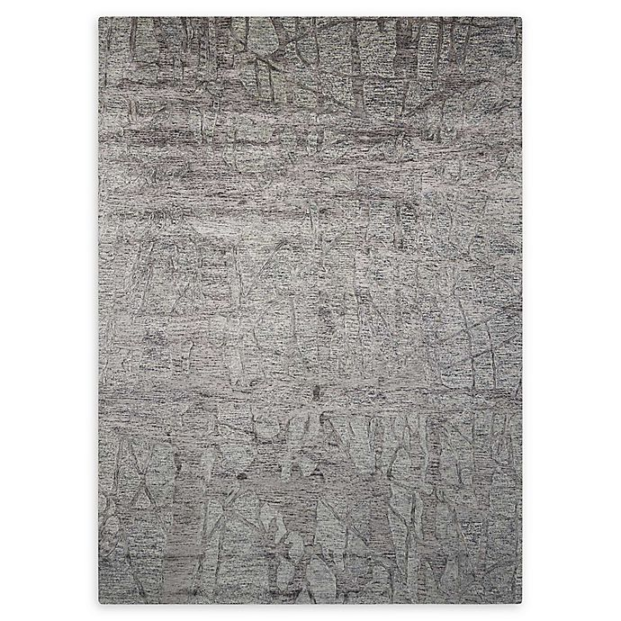 Alternate image 1 for Nourison Gemstone 7'9 x 9'9 Area Rug in Hematite