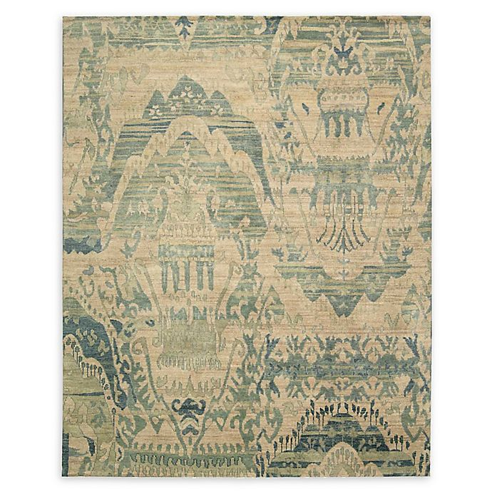 Alternate image 1 for Nourison Dune 7'9 x 9'9 Handcrafted Area Rug in Sea