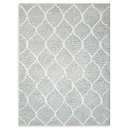 Nourison Galway Handcrafted Shag Rug in Mint