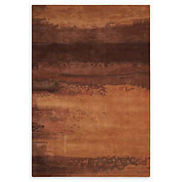 Calvin Klein Luster Wash Area Rug in Copper