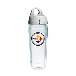 Tervis® NFL Pittsburgh Steelers 24 oz. Emblem Water Bottle with Lid