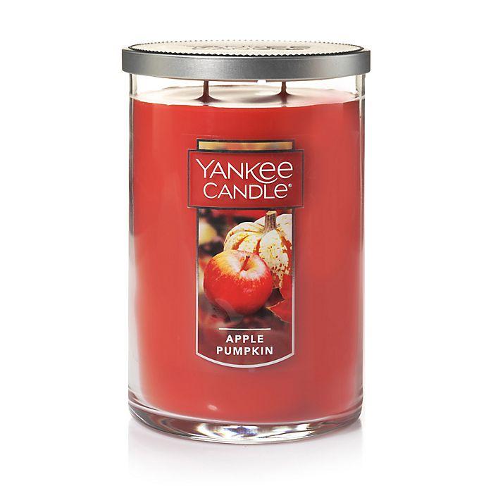 Alternate image 1 for Yankee Candle® Housewarmer® Apple Pumpkin Medium 2-Wick Candle Tumbler
