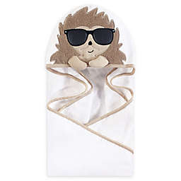 Hudson Baby® Mr. Hedgehog Hooded Towel in Brown