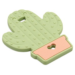 Bumkins® Cactus Silicone Teether in Green
