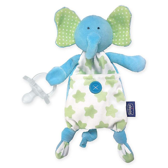 Alternate image 1 for Chicco® Pocket Buddies in Teal Elephant