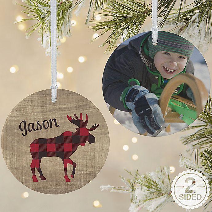 Alternate image 1 for Cozy Cabin Personalized Ornament