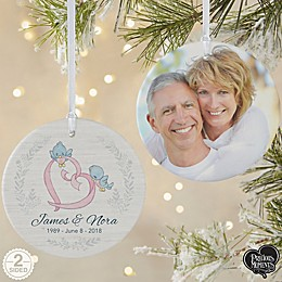 Precious Moments® Anniversary 2-Sided Matte Personalized Ornament