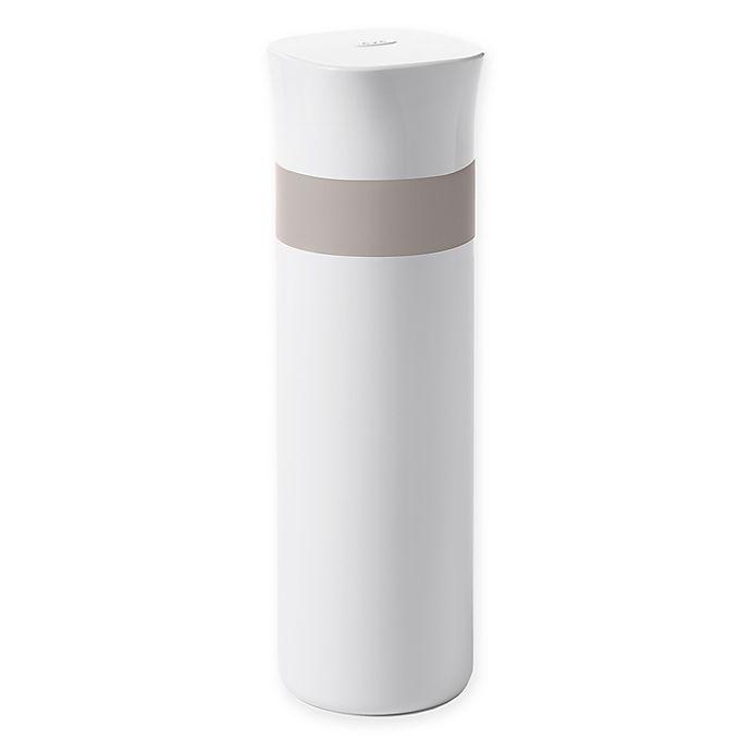 Alternate image 1 for OXO Good Grips® 16 oz. Thermal Travel Mug in White/Grey