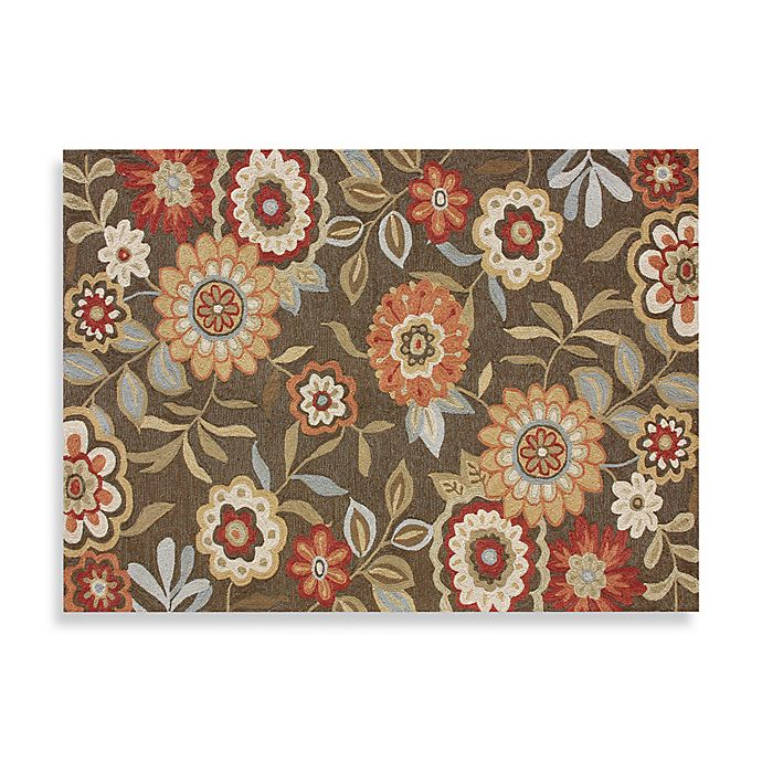Decorative Rug: Loloi Rugs Francesca Collection Decorative Rug In Brown