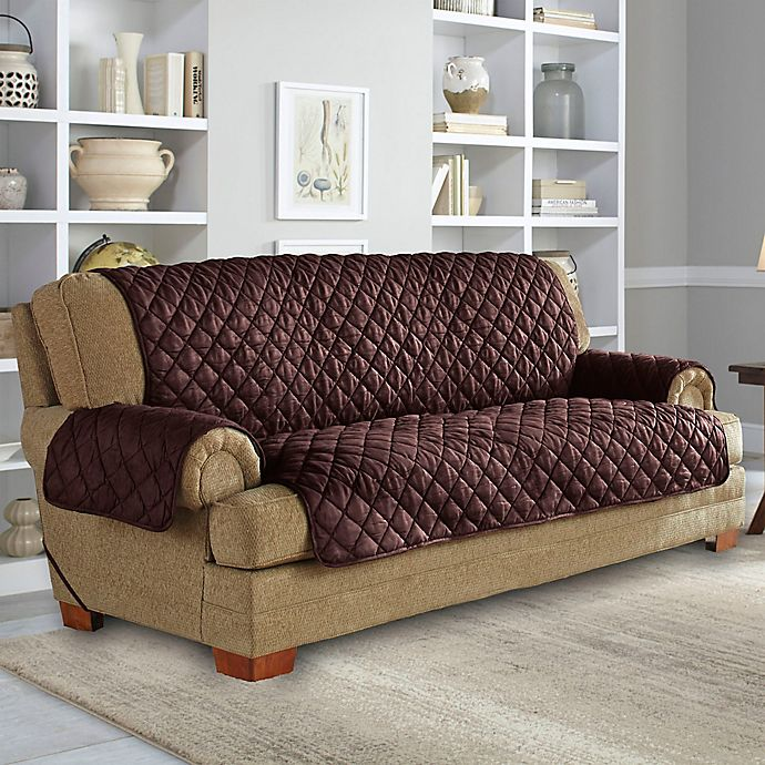 Perfect Fit Neverwet Sofa Cover Bed Bath Beyond