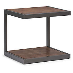 Simpli Home Erina End Table in Brown