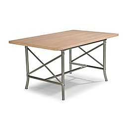 Home Styles French Quarter Rectangular Dining Table with White Wash