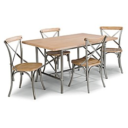 Home Styles French Quarter 5-Piece Dining Set with White Wash