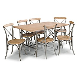 Home Styles French Quarter 7-Piece Dining Set with White Wash