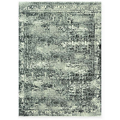 Loloi Rugs Viera Collection Contemporary Vintage Rug in Ash