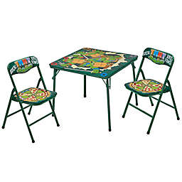 Nickelodeon Teenage Mutant Ninja Turtles 3-Piece Table and Chair Set