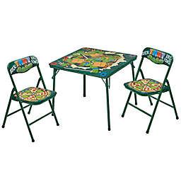 Nickelodeon Teenage Mutant Ninja Turtles 3-Piece Table and Chair Set