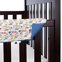 Go Mama Go A is for Alien 30-Inch x 12-Inch Teething Guards (Set of 2)