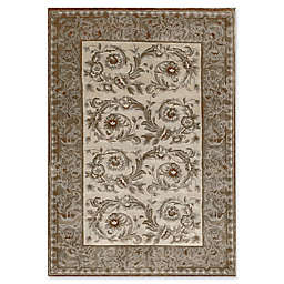 Bokara® Himalayan 4' x 5'10 Hand-Knotted Area Rug in Beige