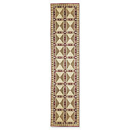 Bokara® Himalayan 2'8 x 11'8 Hand-Knotted Runner in Red