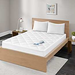 Madison Park Quiet Nights Waterproof Cotton Mattress Pad