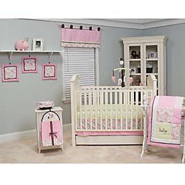 Paisley 10 Piece Crib Bedding Set