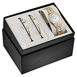 Bulova Crystals Women's 32mm 98X119 Watch and Bracelet Set