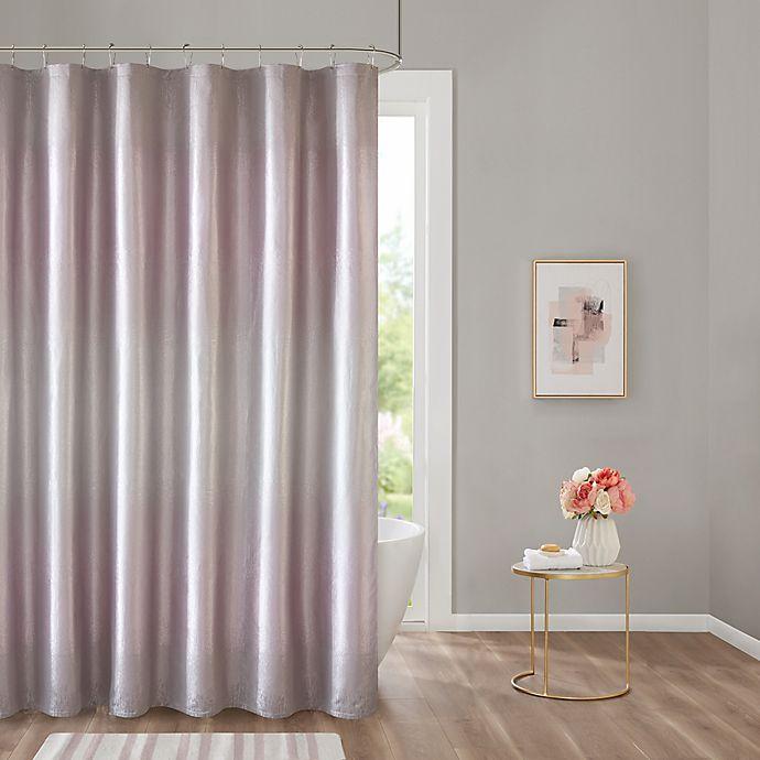Alternate image 1 for Cortona 72-Inch x 84-Inch Shower Curtain in Purple
