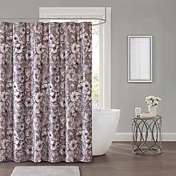 Adaline 72-Inch x 96-Inch Shower Curtain in Purple