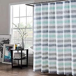 KAS Room Greta 72-Inch x 72-Inch Standard Shower Curtain in Navy