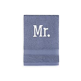 Monogrammed  Wamsutta® Hygro® Mr. & Mrs. Duet Hand Towel