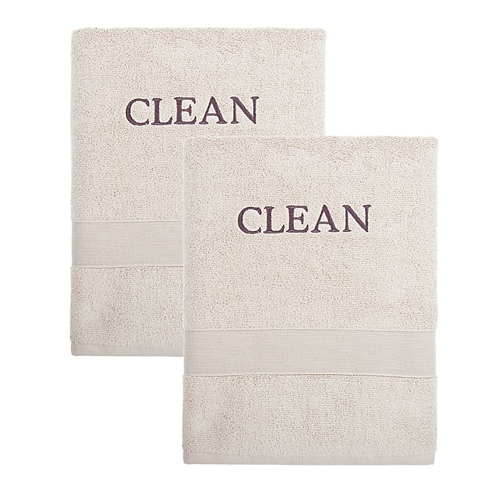 Alternate image 1 for CB Station Luxury Cotton 2-Piece Bath Towel Set